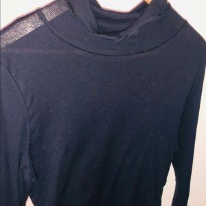 Sheet long sleeve shirt